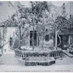 357 - Césarée, cour intérieure d'une maison arménienne (photo Chantre, o. c., p. 455).