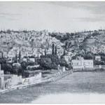 360 - Talas, vue générale des quartiers haut et bas, situé dans la plaine de Césarée (photo Chantre, o. c., p. 452).