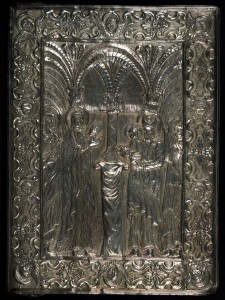 Արծաթէ կրկնակազմ (1488 թ., Աւետարան, Walters Manuscript W.542)